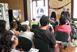 Librería Lehmann 2, charla mayo 2014